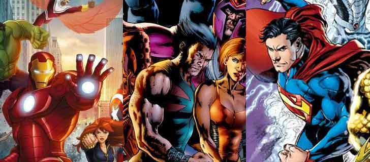 Grup Superhero Marvel Dan DC