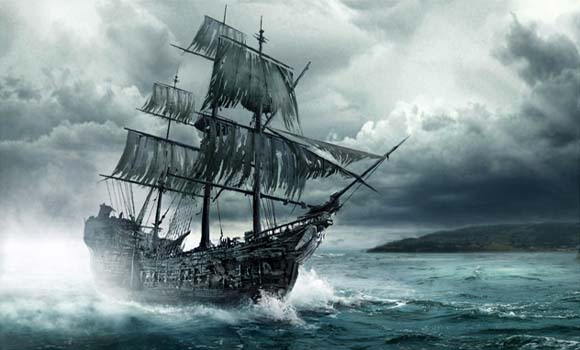 Kapal Hantu Terseram Di Dunia