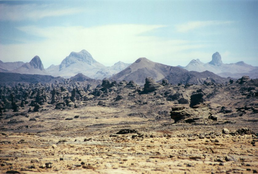 Gunung Tertinggi Di Benua Afrika
