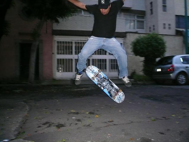 Trik Dasar Skateboard