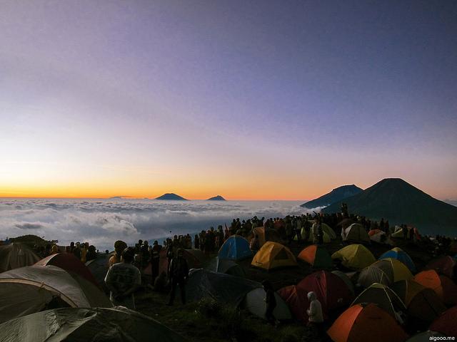 Gunung Tertinggi Di Jawa Tengah
