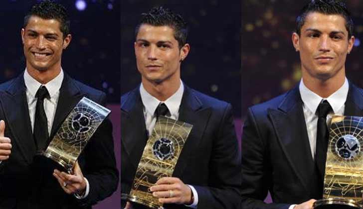 Gaya Rambut Cristiano Ronaldo