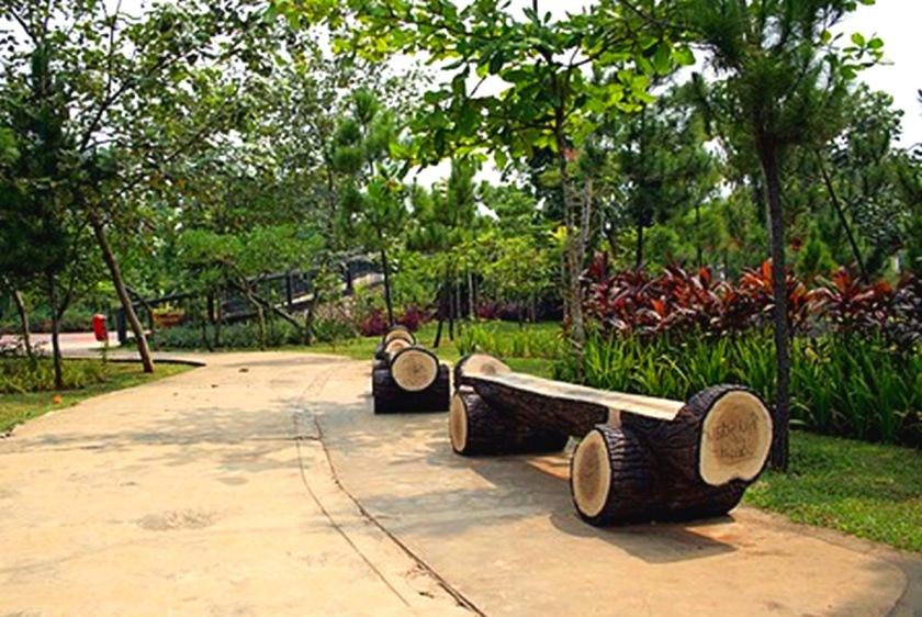 Hutan kota dengan nuansa alami di BSD, Tangerang Selatan