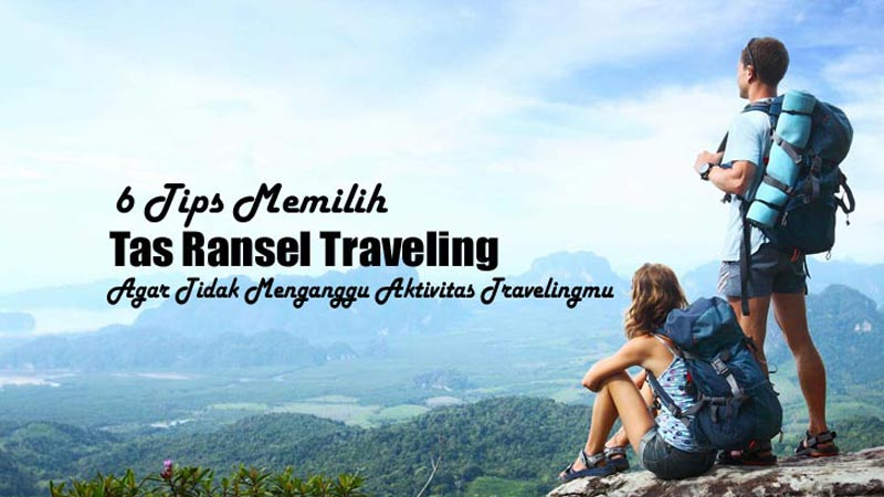 Tas Ransel Traveling