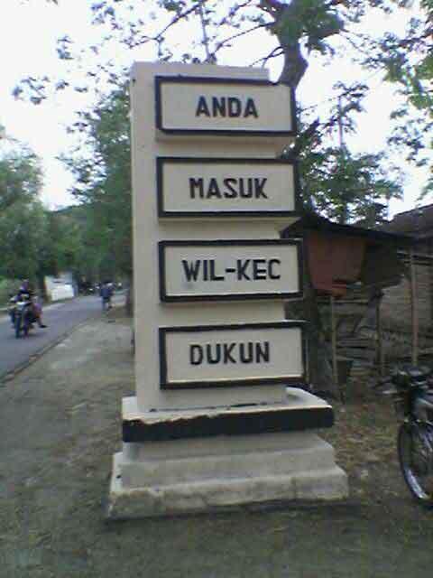 Nama Desa Unik