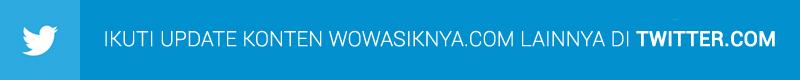 Follow Follow @wowasiknyacom